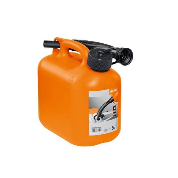 Kanister kütusele 5L Oranž